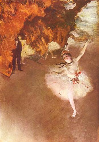 ドガ 舞台の踊り子