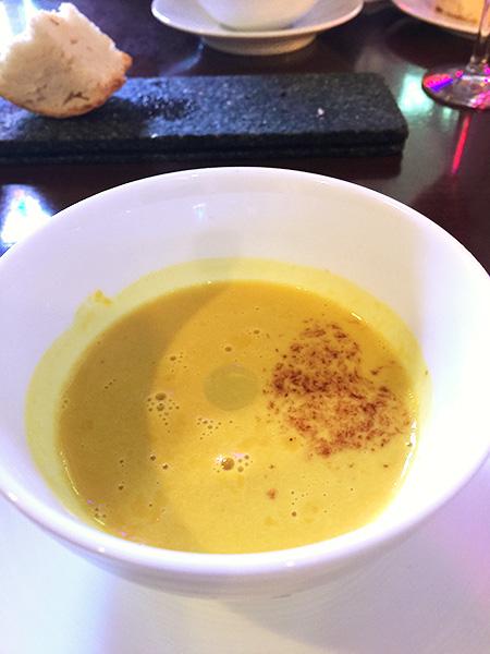 モーべギャルソン かぼちゃの冷製スープ